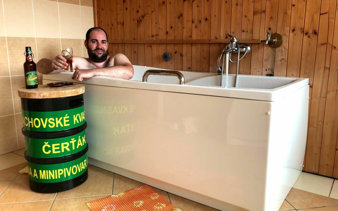 Enjoy a Relaxing Beer Spa Experience in the Czech Republic