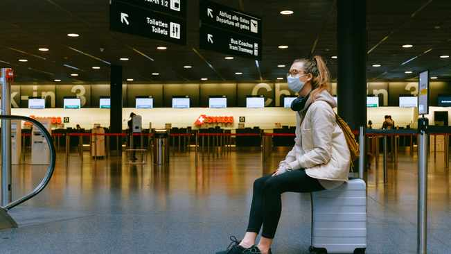 How can you tell your loved ones you are not ready to travel?
