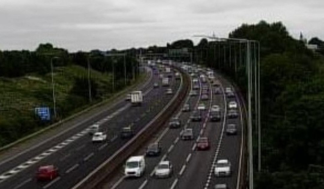 M5 traffic updates: Slow moving traffic as holidaymakers hit the motorway