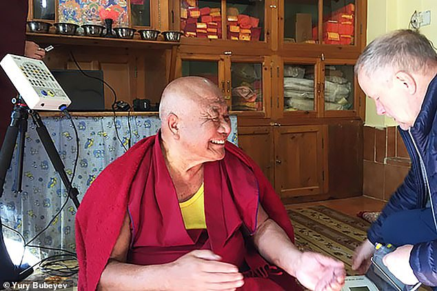 Scientists are examining whether Tibetan MONKS can provide tips for space travel