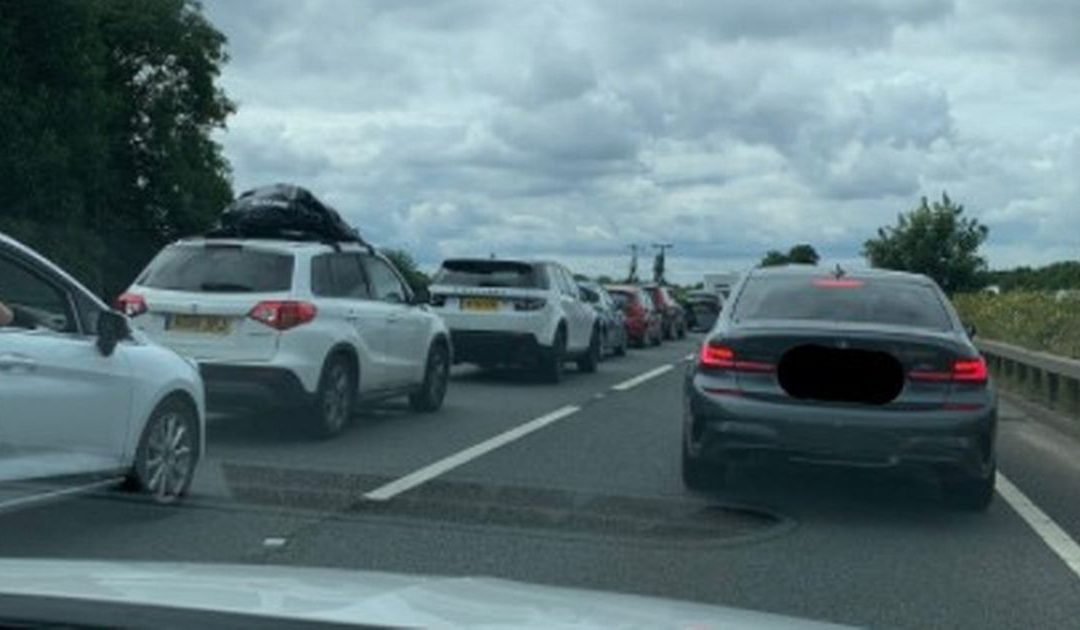 A12 traffic: Recap as all lanes re-open after serious crash with one vehicle catching fire